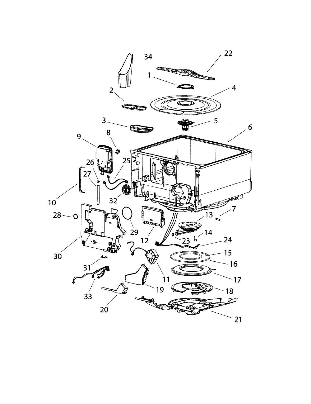 medium resolution of fisher paykel model dd603b dishwasher genuine parts fisher paykel washer diagram fisher paykel diagram