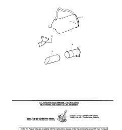 poulan sm400 type 2 vacuum tube assembly diagram [ 1696 x 2200 Pixel ]