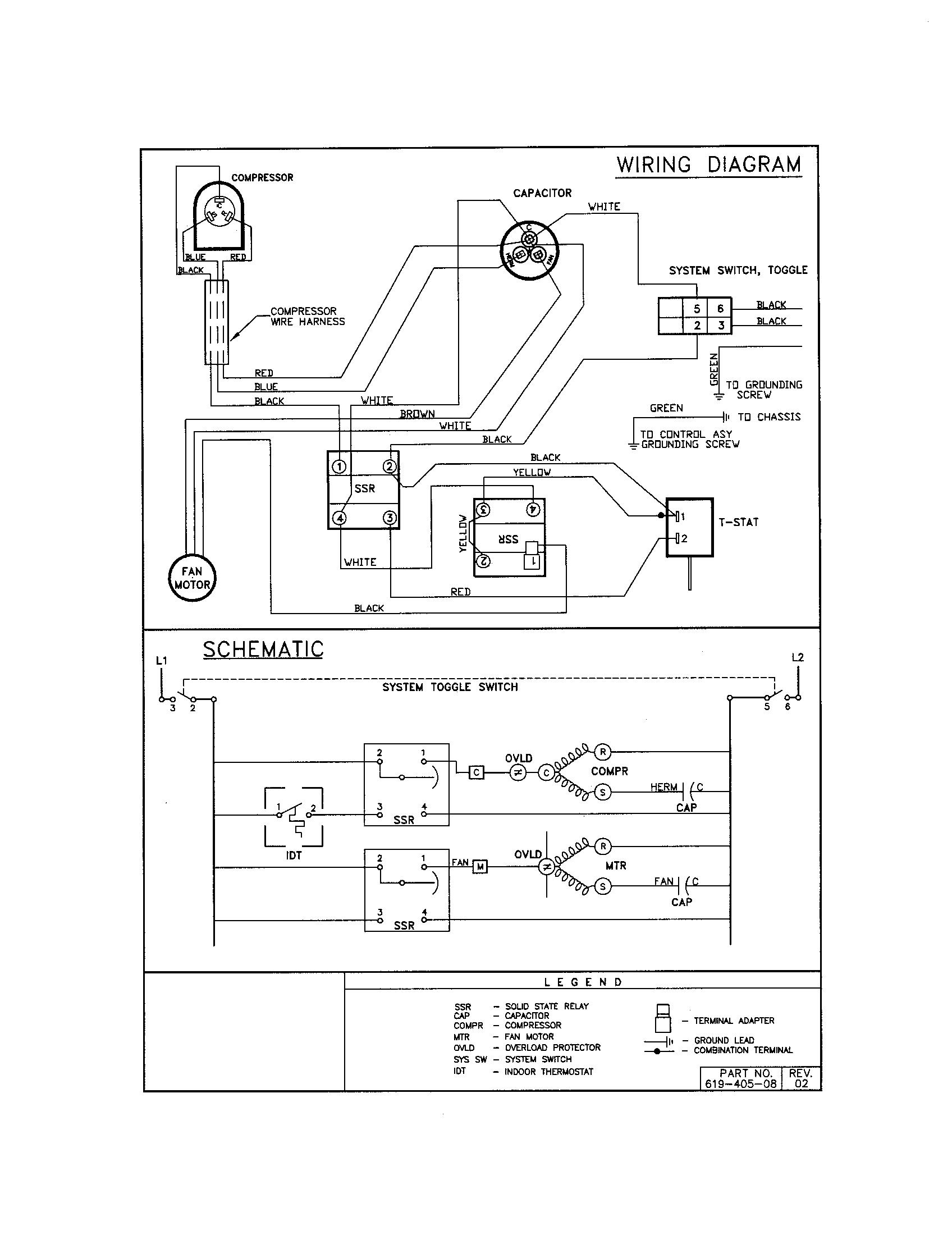 Friedrich ac wiring diagram images gallery