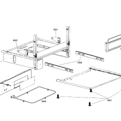 Bosch Oven Wiring Diagram Rv Trailer Freestanding Dual Fuel Range Parts