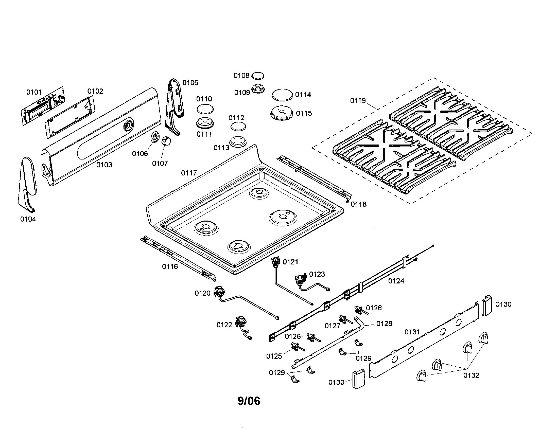 bosch oven wiring diagram minn kota fortrex 80 parts gas range model hgs3052uc01 sears partsdirect
