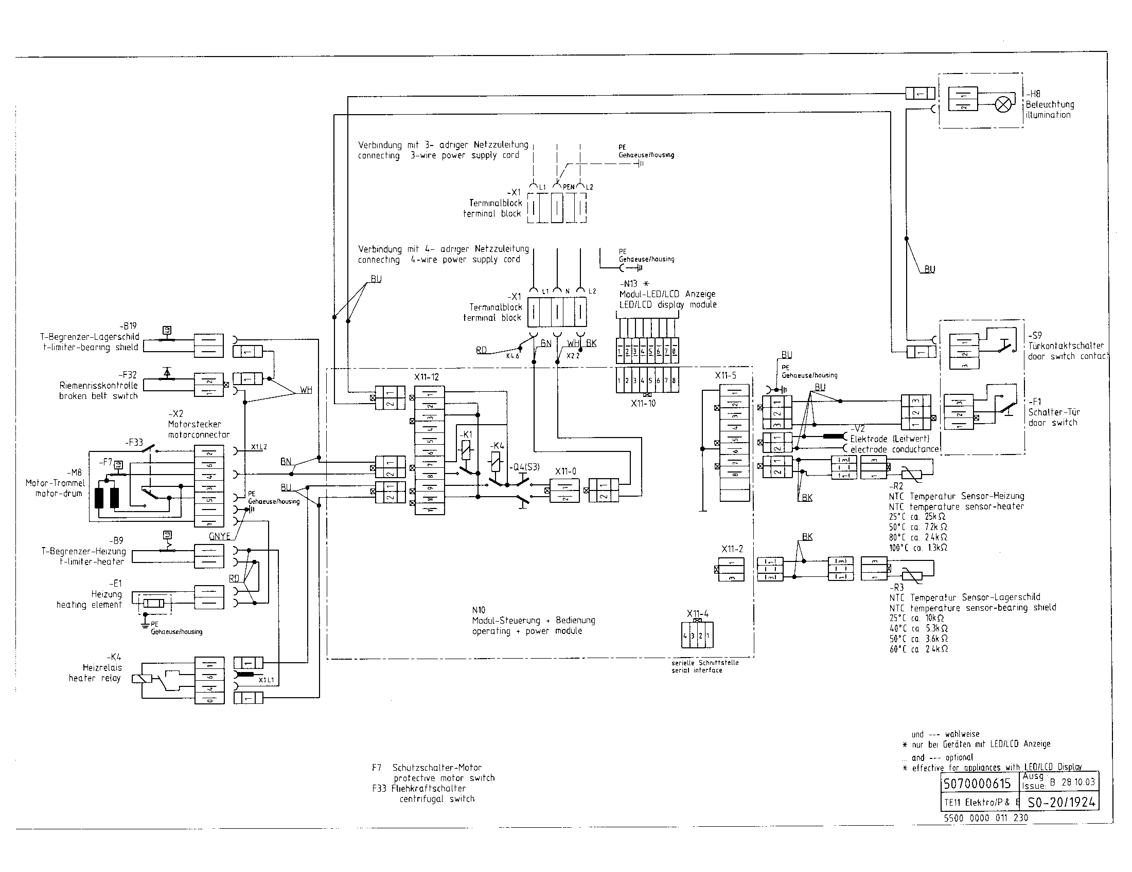WIRING DIAGRAM Diagram & Parts List for Model wtmc6321us03