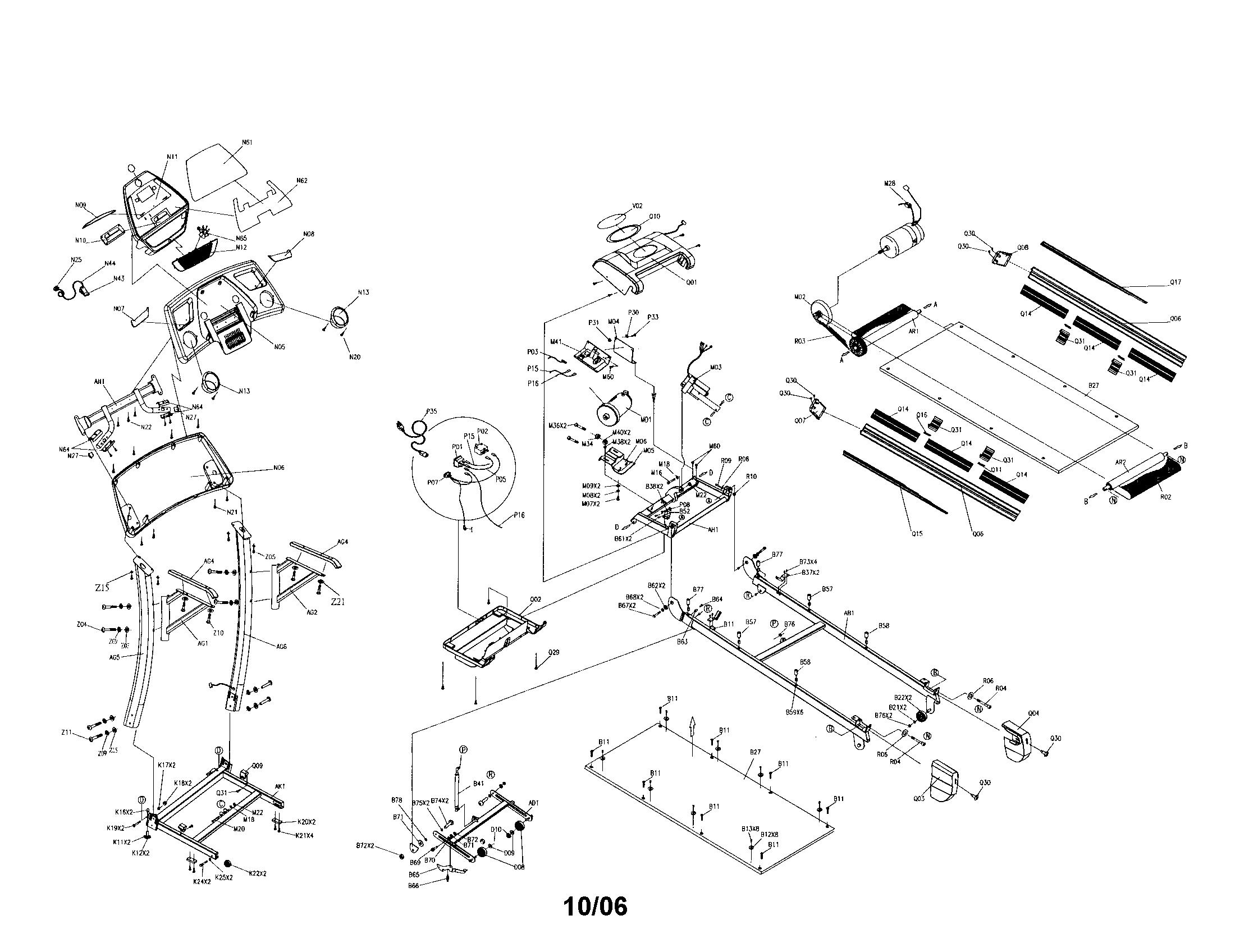 Wiring Diagram For Treadmill Motor