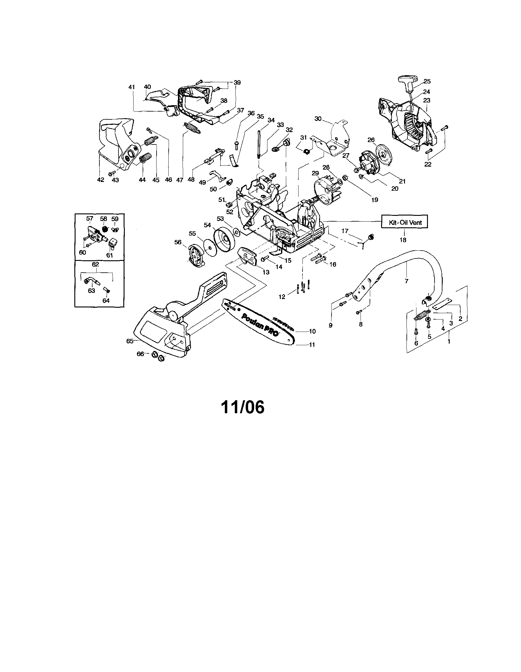 pioneer 01200a chainsaw parts diagram - HD 1724×2223
