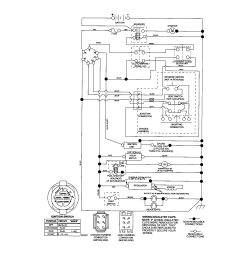 sears wiring diagrams wiring diagram detailed lawn tractor wiring diagram craftsman model 917287261 lawn tractor [ 1696 x 2200 Pixel ]
