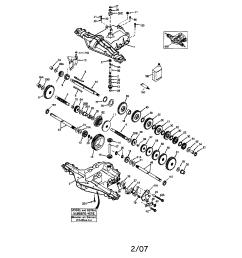 wheel horse part diagram transmission manual [ 1696 x 2200 Pixel ]
