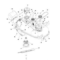 Husqvarna Lawn Tractor Parts Diagram Vx Wiring Riding Mower Deck Free