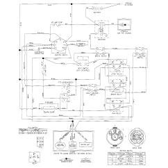 Husqvarna Lawn Tractor Wiring Diagram Ford Model T Riding Mower Schematic Parts Somurich
