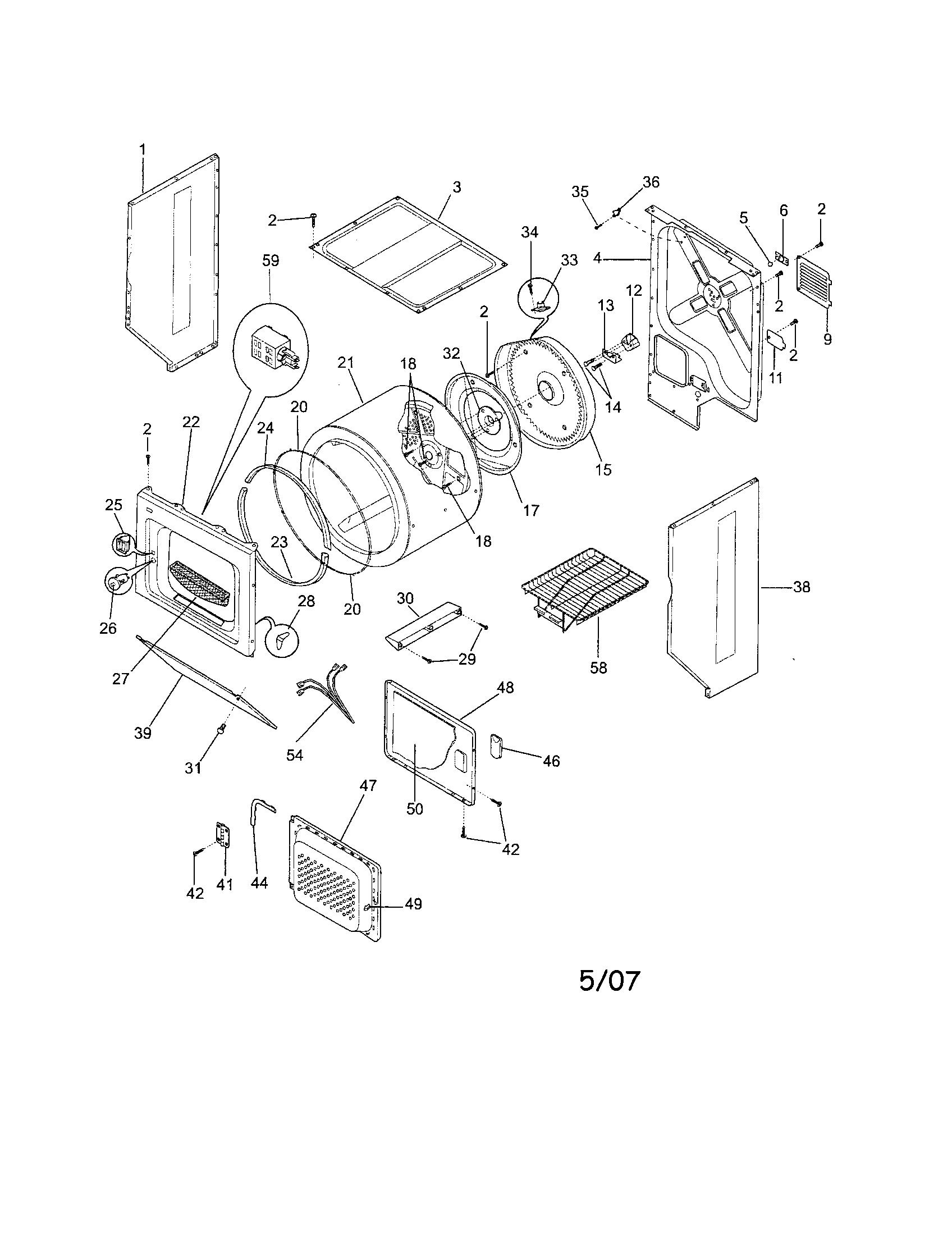 Frigidaire Affinity Dryer Fuse Location Whirlpool Dryer