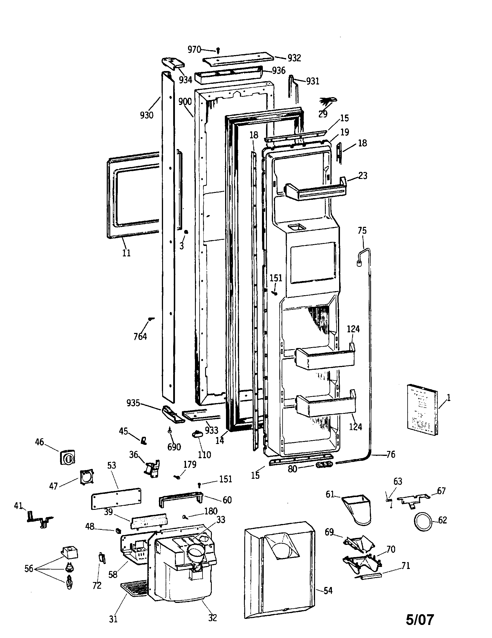 ge profile arctica parts diagram rock formation cycle water dispenser repair within wiring
