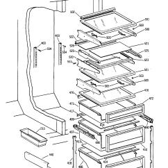 Ge Monogram Refrigerator Parts Diagram 1989 Yamaha Moto 4 350 Wiring List Engine And