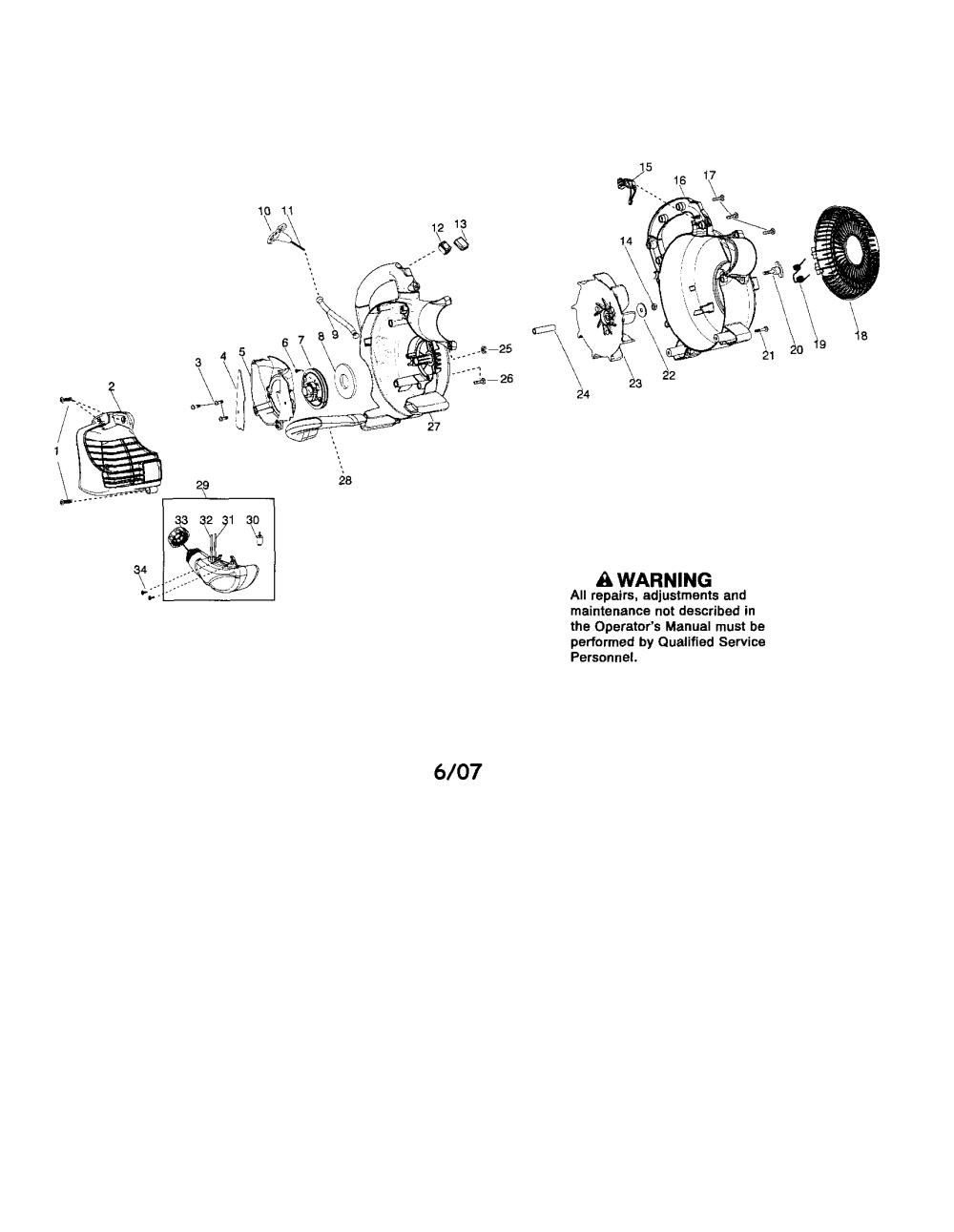 medium resolution of looking for poulan model bvm200vs gas leaf blower repair poulan bvm200vs wiring diagram