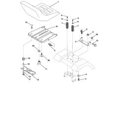 craftsman 917287050 seat assembly diagram [ 1696 x 2200 Pixel ]