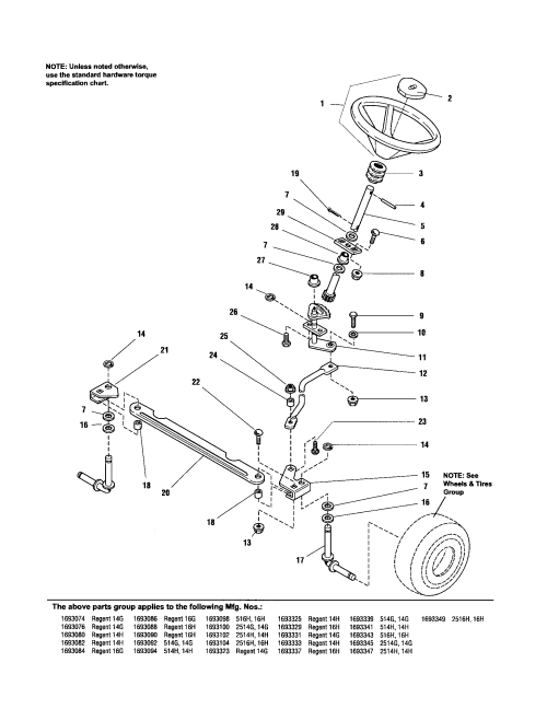 small resolution of simplicity 1693323 steering diagram