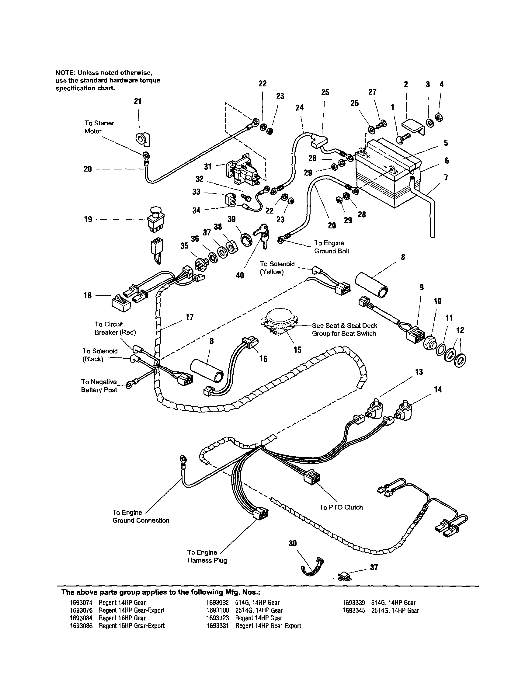 Wiring Diagram For Gs6500 Tractor, Wiring, Free Engine