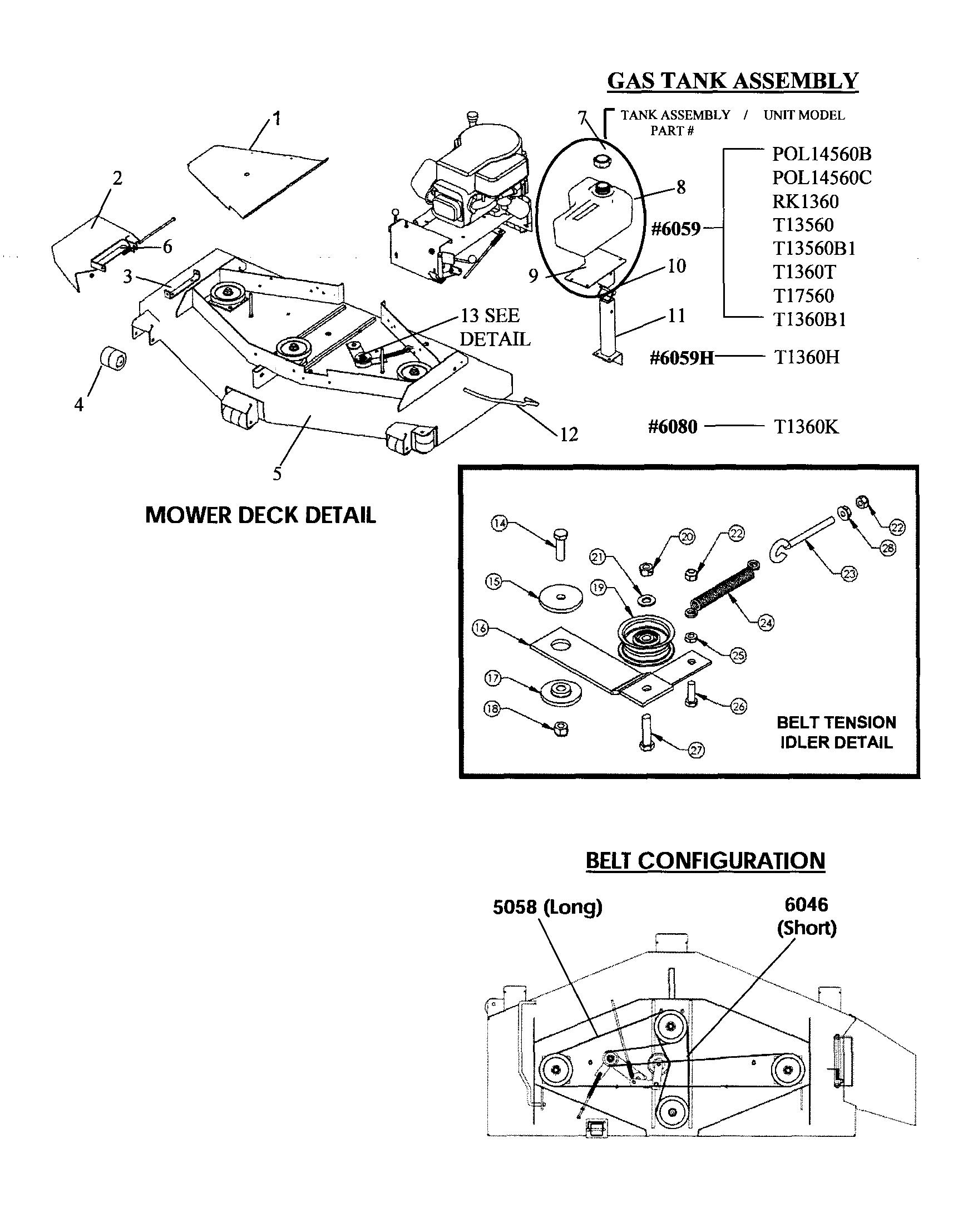 wiring schematics diagram parts list for model t14560 swisherparts