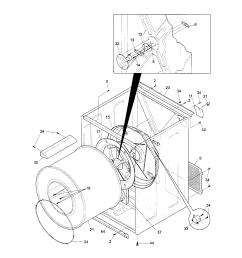 kenmore 41798052700 cabinet drum diagram [ 1696 x 2200 Pixel ]