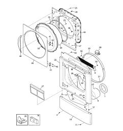 kenmore 41798052700 front panel lint filter diagram [ 1696 x 2200 Pixel ]