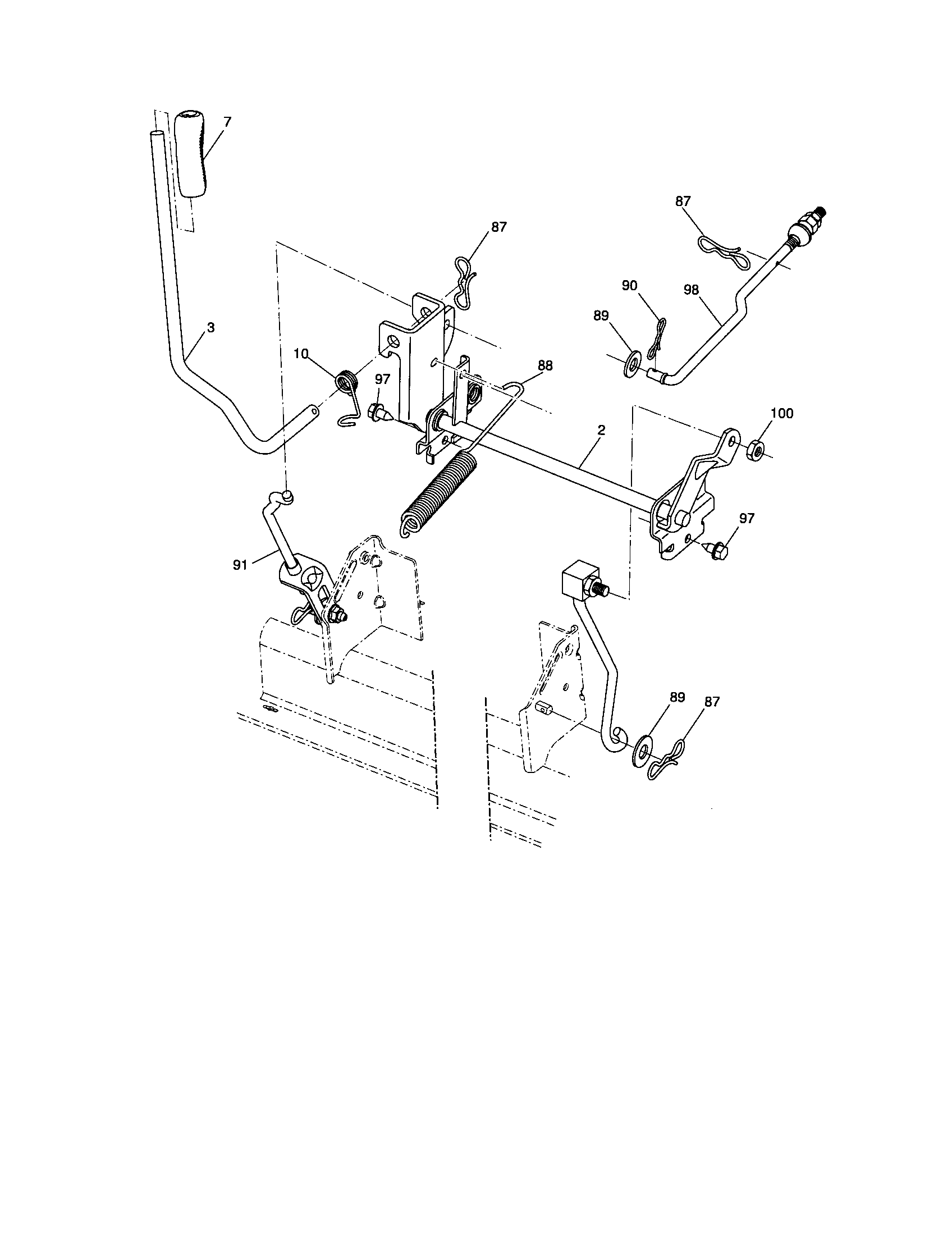 Wiring Diagram For Craftsman 917 276922 Riding Lawn Mower