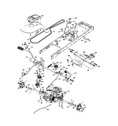 ground drive craftsman model 917287480 lawn tractor genuine parts ground drive wireless network connection diagram  [ 1696 x 2200 Pixel ]
