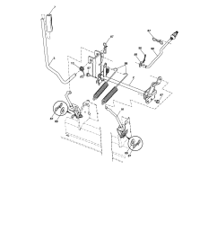 lift craftsman model 917287480 lawn tractor genuine parts lift 1984 honda shadow 500 wiring diagram  [ 1731 x 2227 Pixel ]