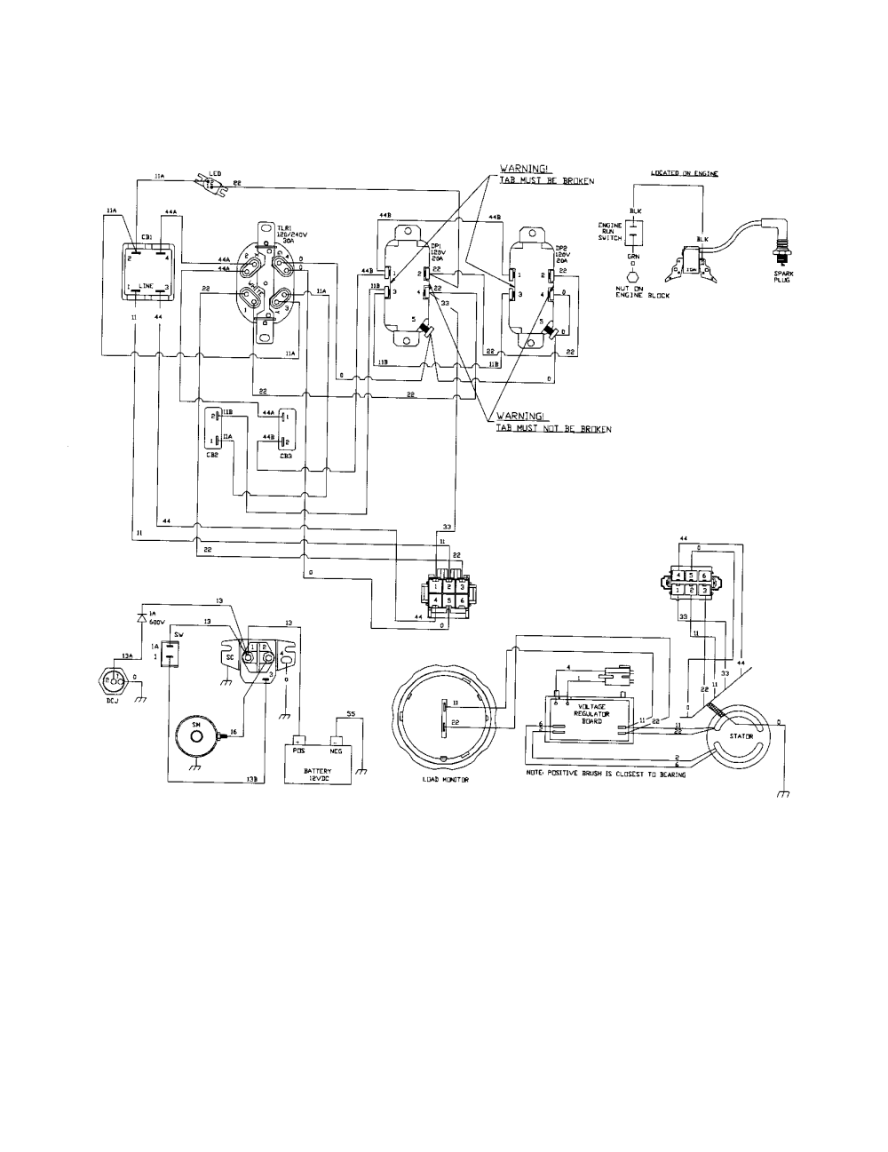 medium resolution of craftsman generator wiring diagram parts