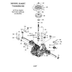Craftsman Lawn Tractor Parts Diagram 1995 Ez Go Wiring 36 Volt Model 917288582 Genuine