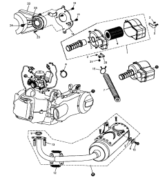 go kart engine diagram [ 1696 x 2200 Pixel ]
