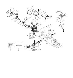 poulan chainsaw part diagram wiring [ 1726 x 2224 Pixel ]