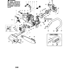 Poulan 2150 Chainsaw Fuel Line Diagram Wiring Toyota Model Type 1 5 Gas Genuine Parts
