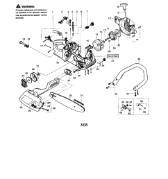 looking for poulan model 2375 type 7 gas chainsaw repair replacement parts  [ 1696 x 2200 Pixel ]