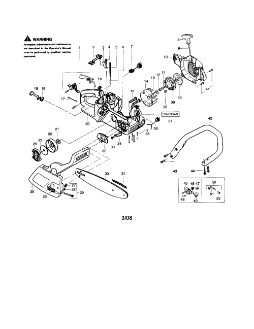 small resolution of looking for poulan model 2375 type 7 gas chainsaw repair replacement parts