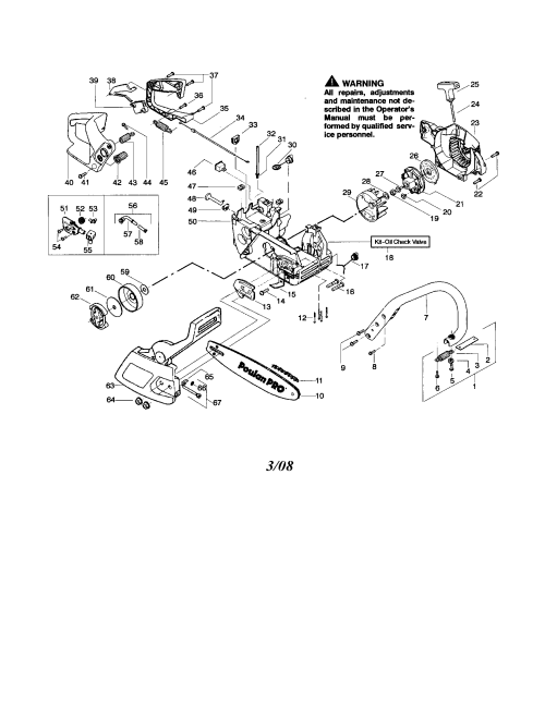 small resolution of looking for poulan model 260 type 4 5 gas chainsaw repair replacement parts