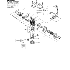 Stihl Fs 56 Parts Diagram 72 Ford F250 Wiring Chainsaw Additionally Poulan Library