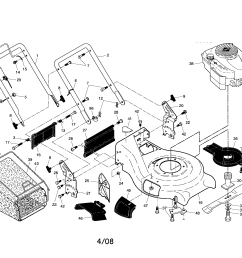 craftsman 917370750 engine housing handle diagram [ 2200 x 1696 Pixel ]