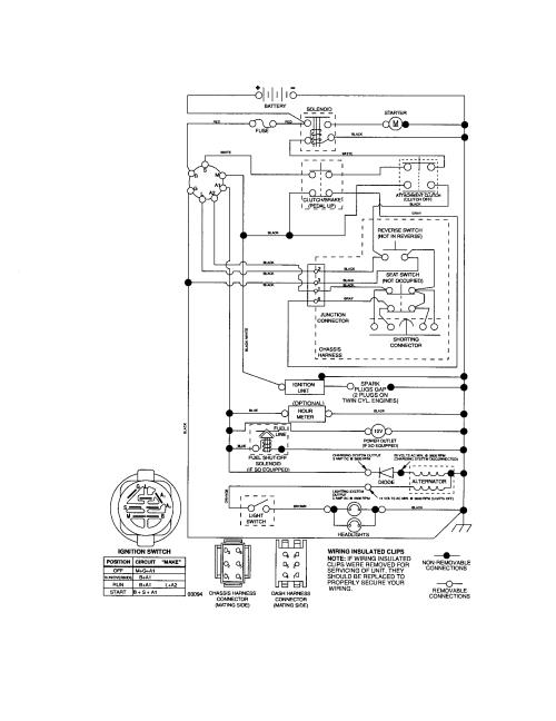 small resolution of craftsman 917287120 schematic diagram tractor diagram