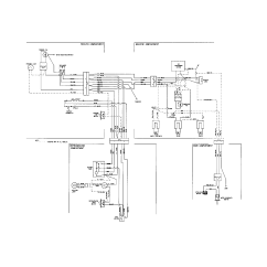 Frigidaire Wiring Diagram Lights And Outlets On Same Circuit Refrigerator Parts Model