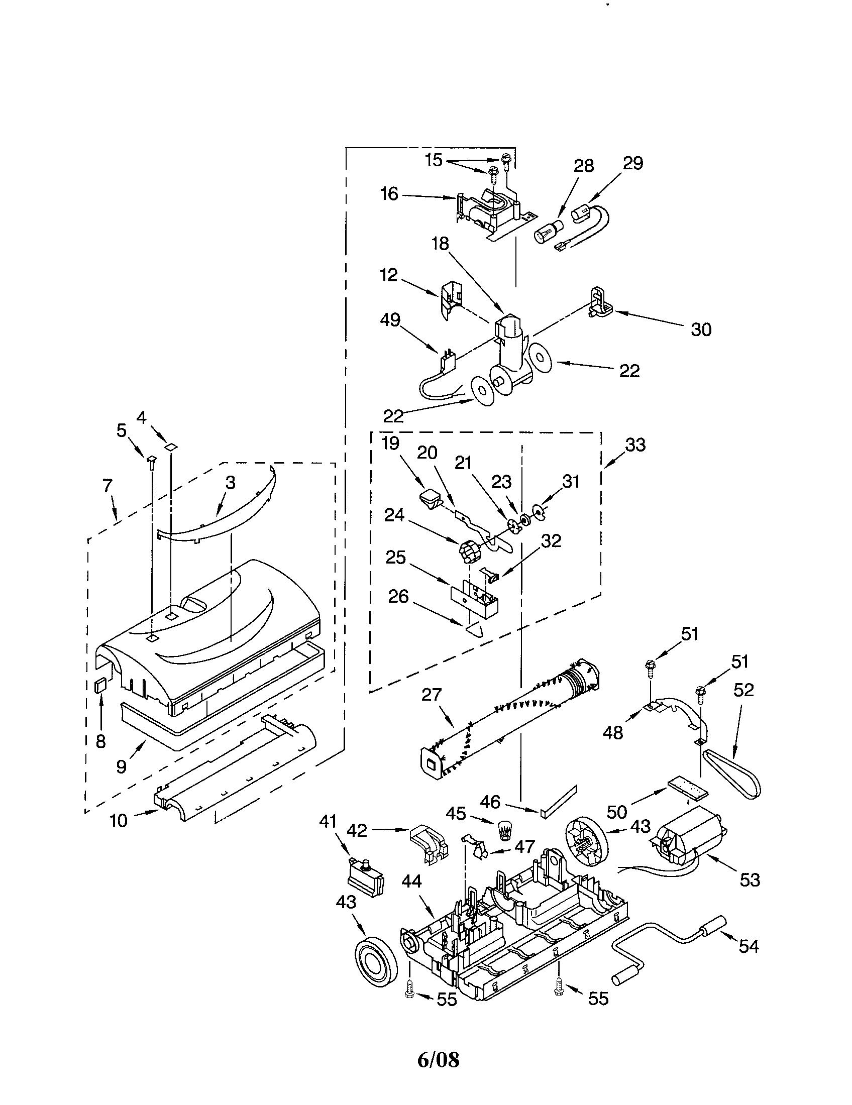 Wiring Diagram: 28 Kenmore Vacuum Parts Diagram