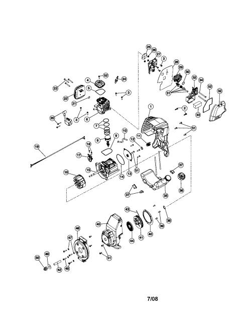 small resolution of craftsman 316794980 cylinder flywheel crankcase diagram