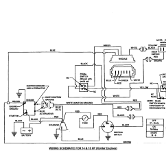 John Deere Lawn Mower Ignition Switch Wiring Diagram 13 Pin Trailer Plug Uk 8 Horse Kohler Small Engine Get Free
