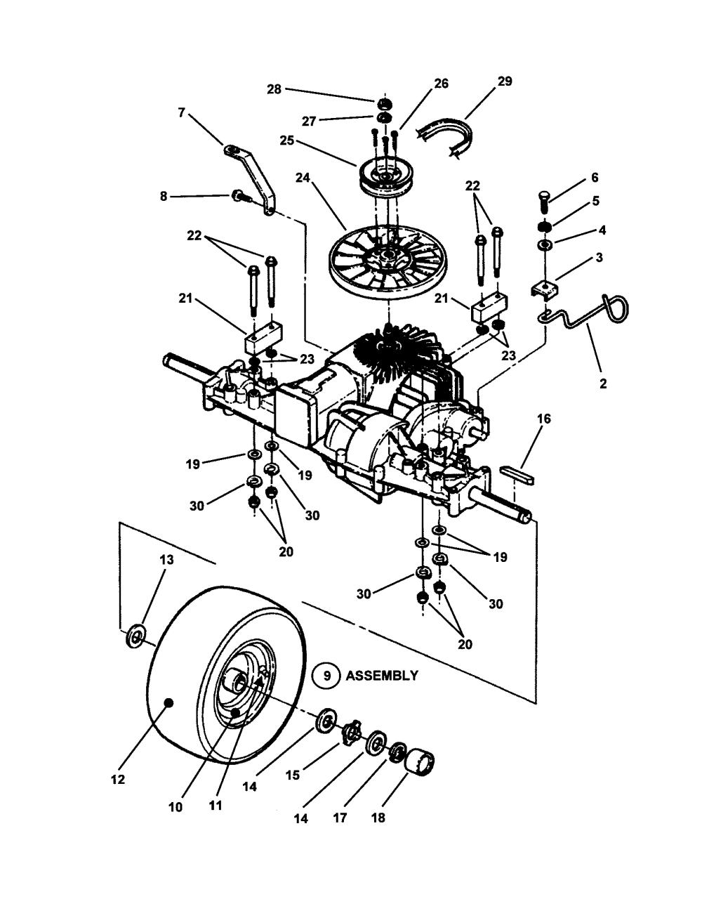 medium resolution of snapper sr1433 wiring harnes