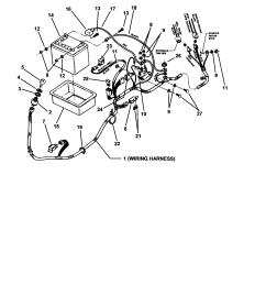 snapper sr1433 wiring harnes [ 1696 x 2200 Pixel ]