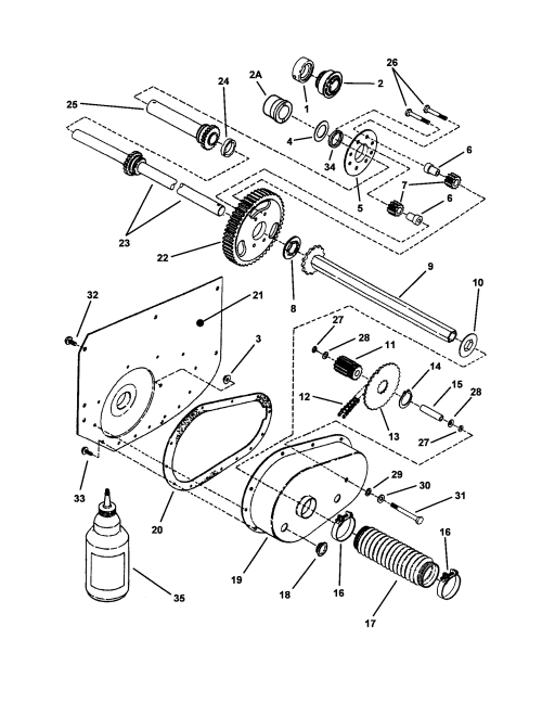 small resolution of snapper 301222be differential r h fender diagram
