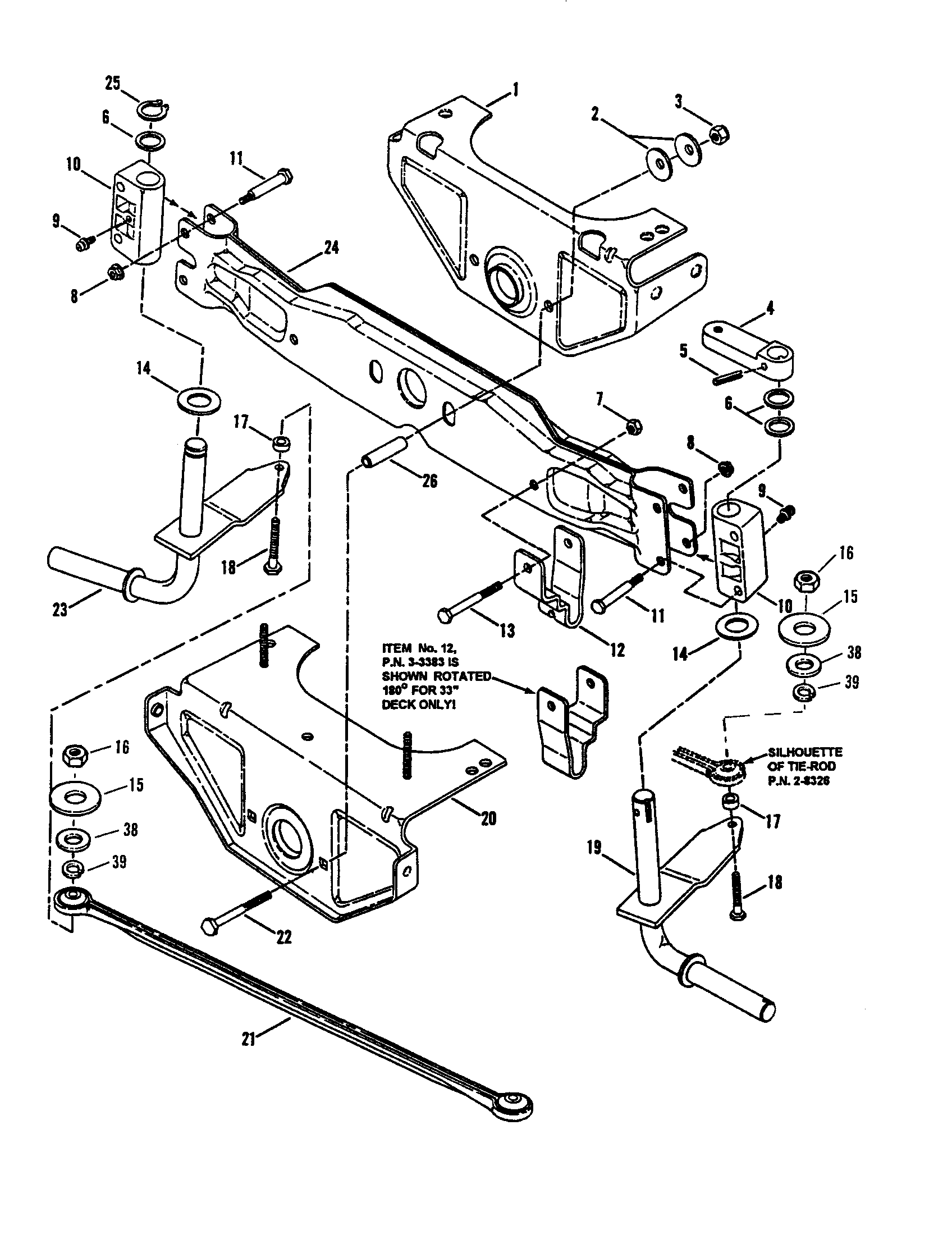 hight resolution of snapper lt145h38dbv front axle front wheel diagram