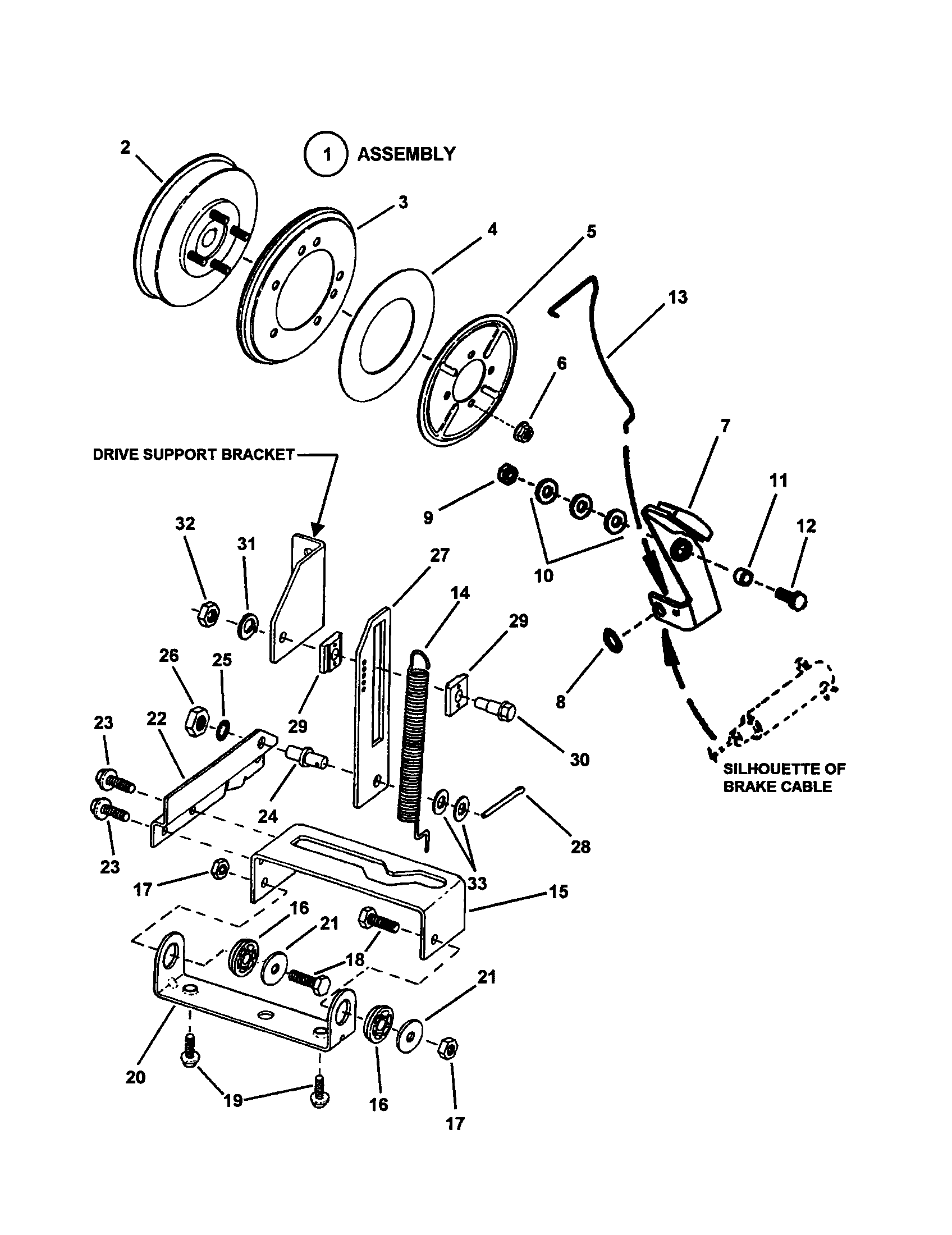 SMOOTH CLUTCH (SERIES 19) Diagram & Parts List for Model