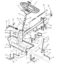 snapper wm280921b front end steering diagram [ 1696 x 2200 Pixel ]