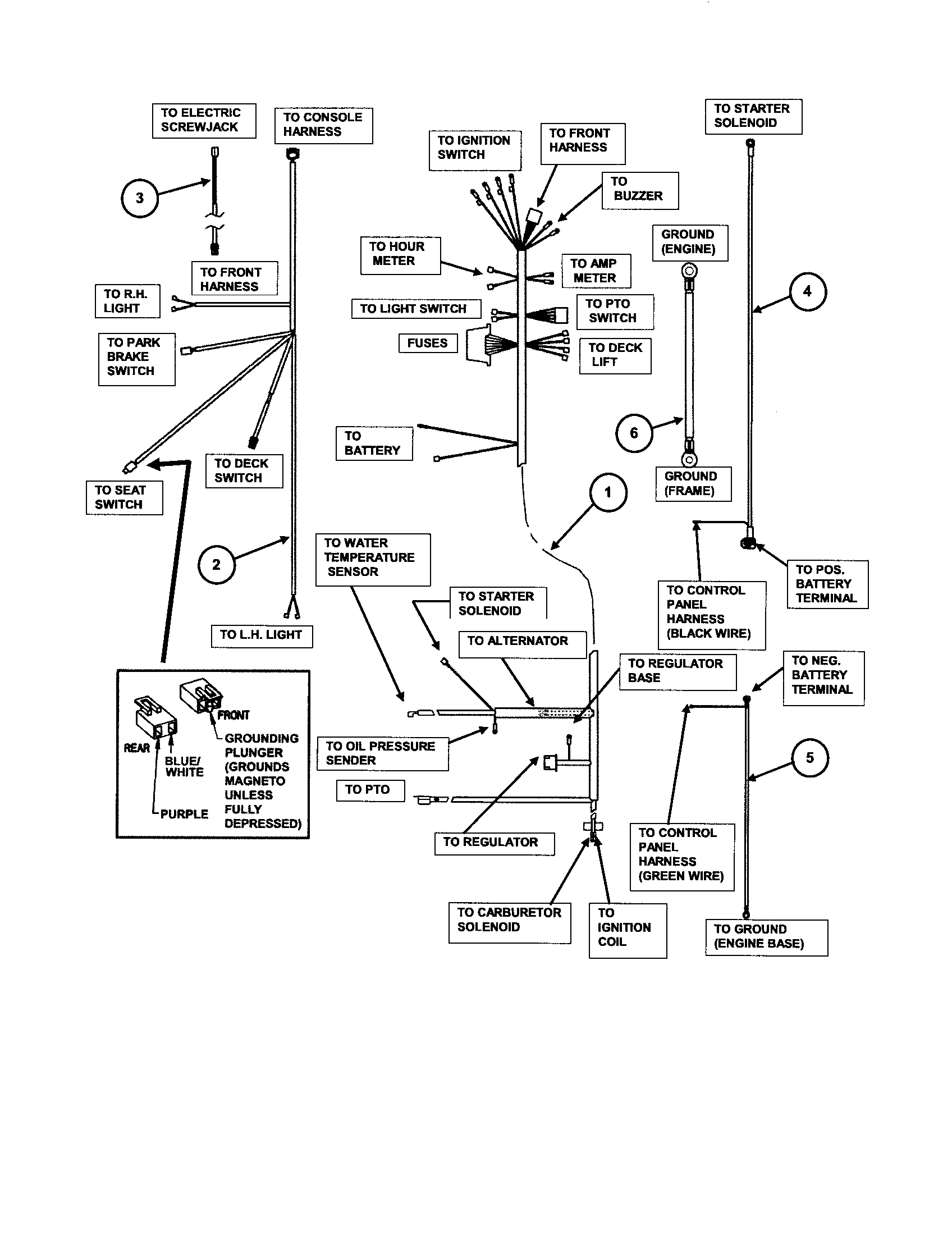 WIRING (GAS ONLY) Diagram & Parts List for Model ZF2300GKU