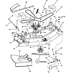 snapper hzs14331bve 48 mower deck diagram [ 1696 x 2200 Pixel ]