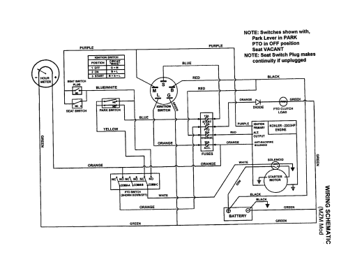 small resolution of snapper mzm2300kh wiring schematic mzm models diagram