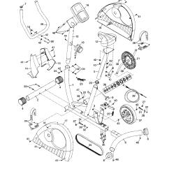 Bike Parts Diagram Golf 5 Radio Wiring Weslo Pursuit S 2 8 Model 831218000 Sears